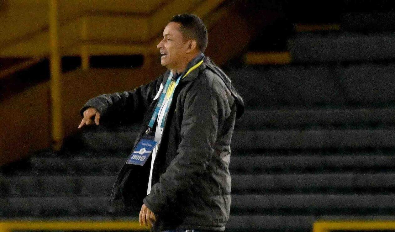 César Torres, técnico saliente de Alianza Petrolera