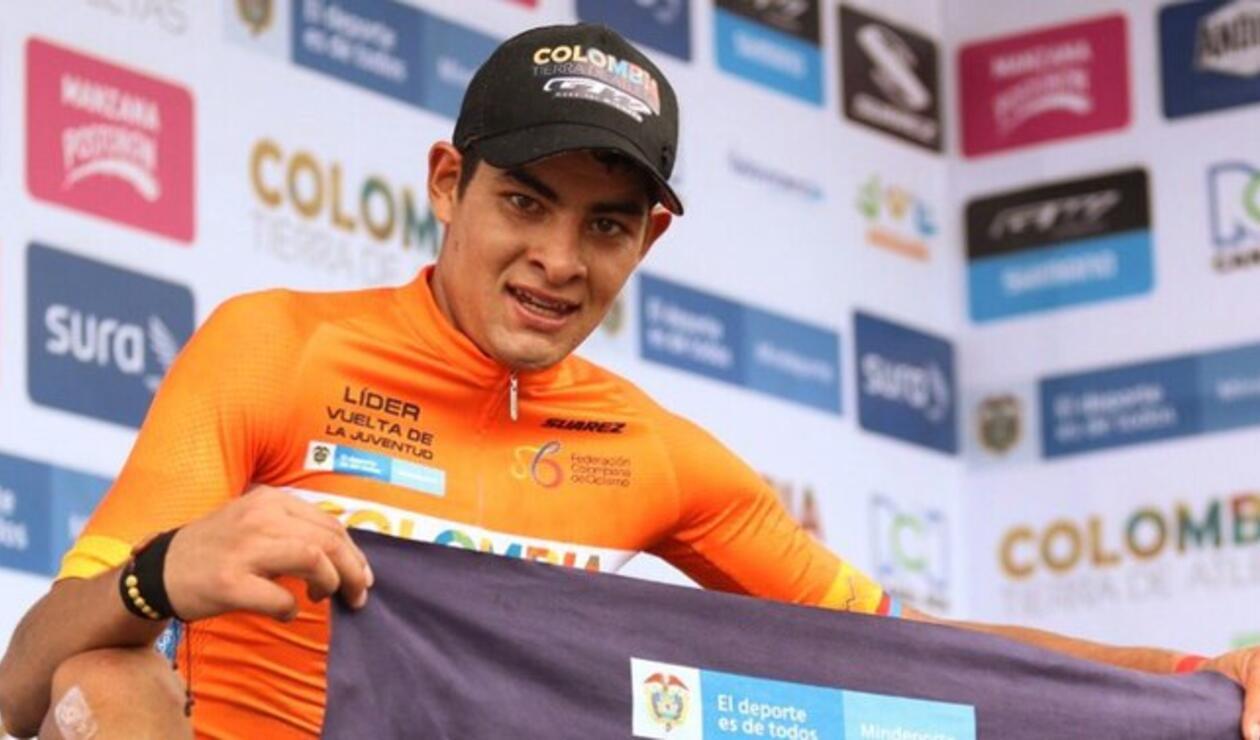 Diego Camargo, ciclista del Colombia Tierra de Atletas