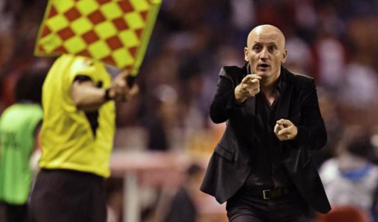 Pablo Repetto, técnico de Liga