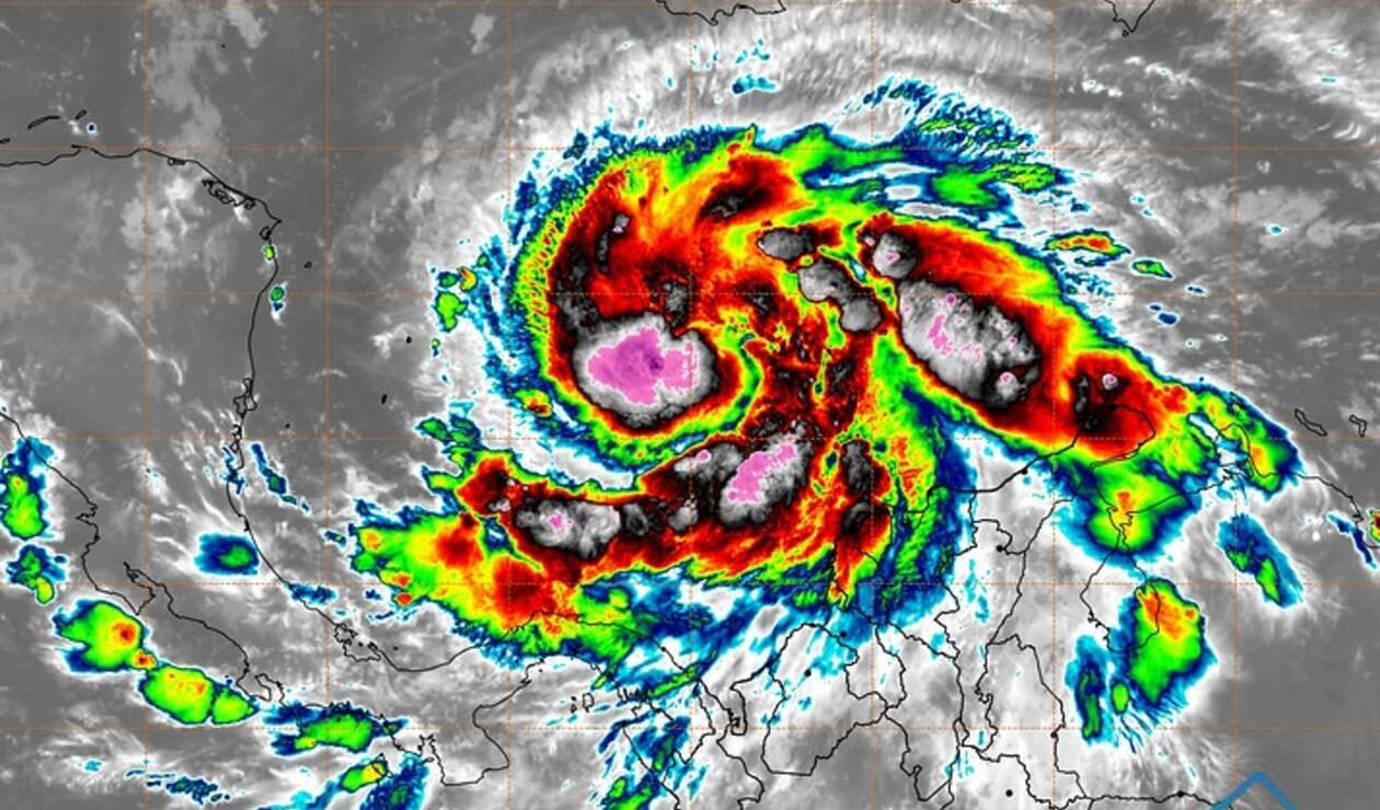 Huracán en San Andrés