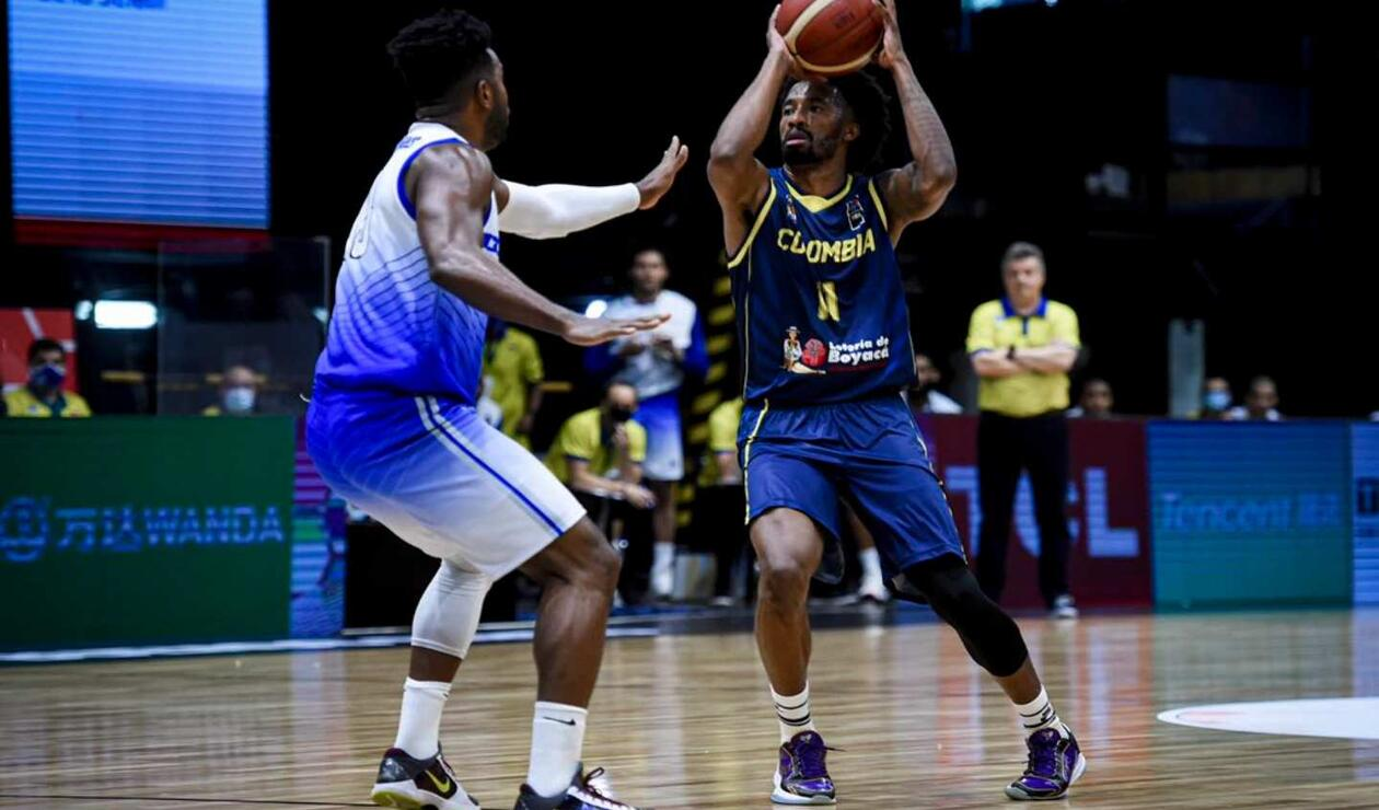 Colombia Vs. Venezuela baloncesto