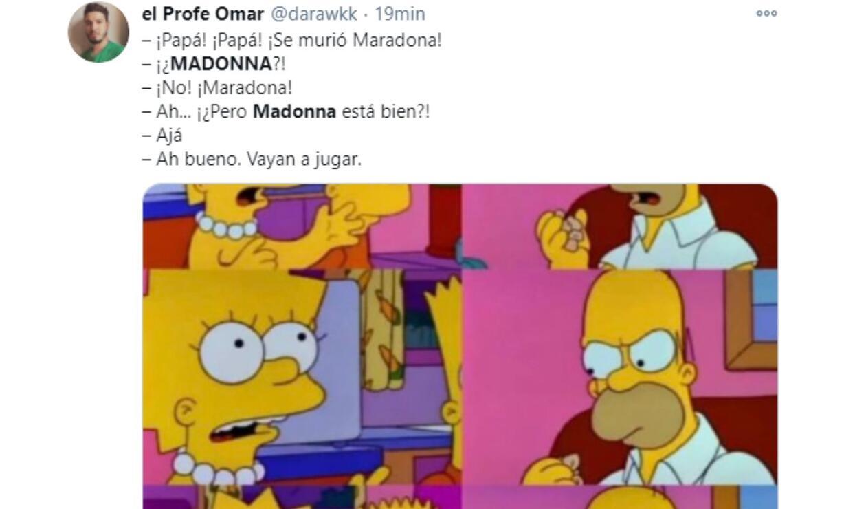 Madonna en vez de Maradona. la insólita tendencia en Colombia