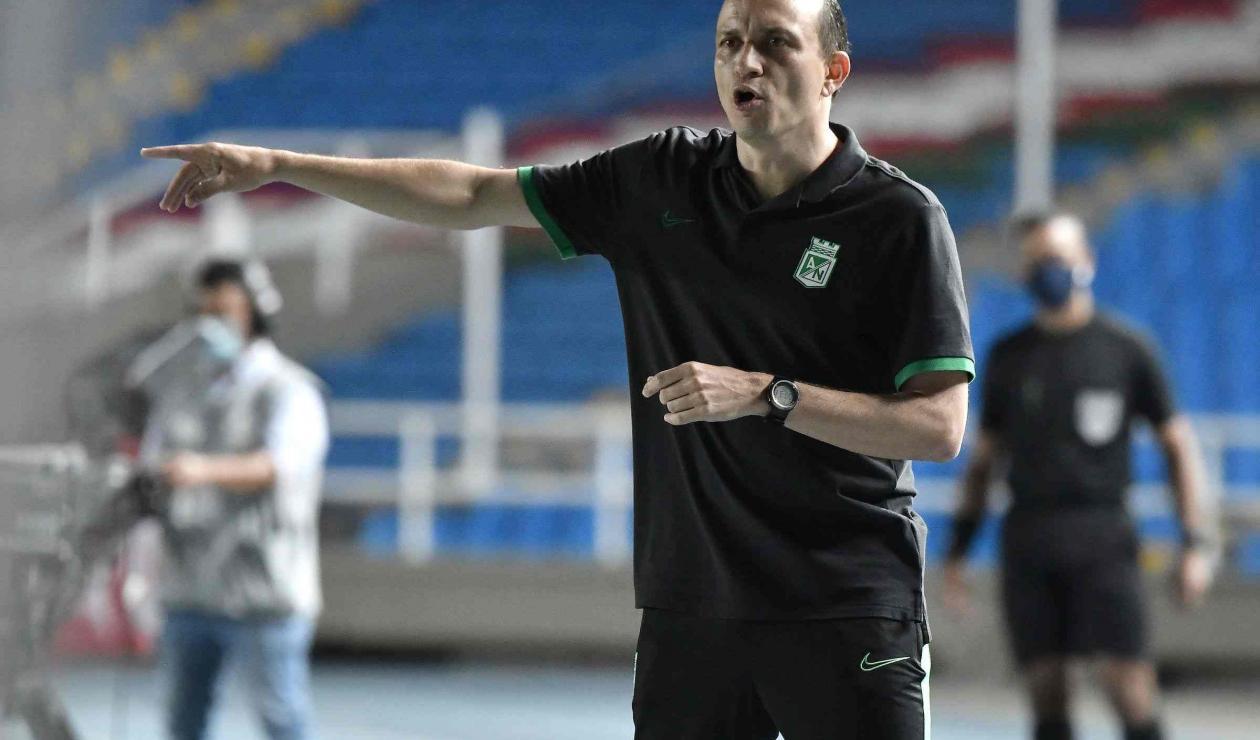 Alejandro Restrepo, técnico de Nacional.
