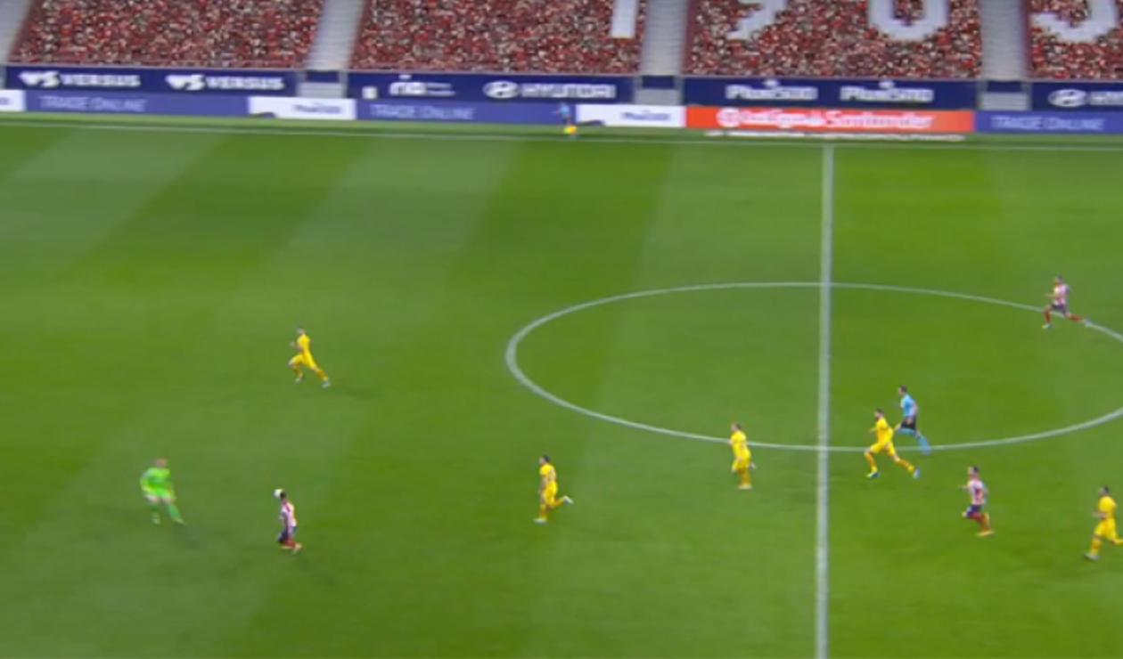 Ter Stegen, Barcelona vs Atlético de Madrid
