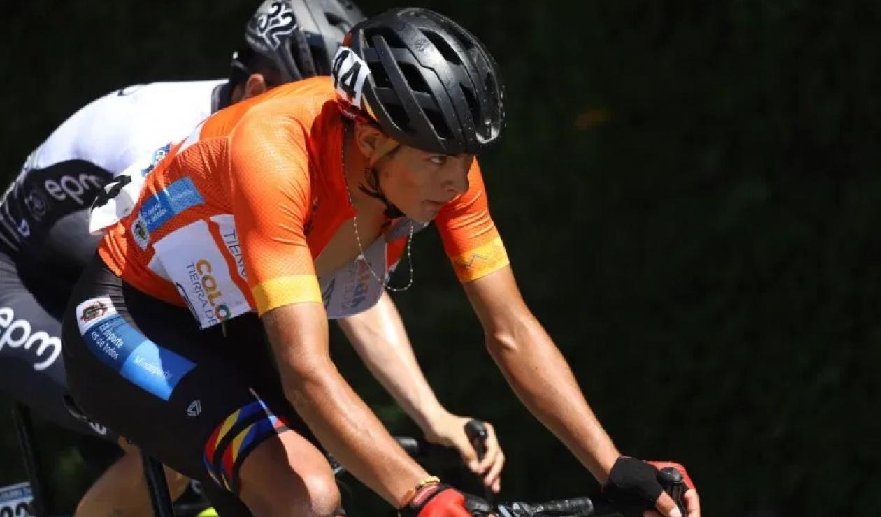 Diego Camargo, campeón de la Vuelta a Colombia