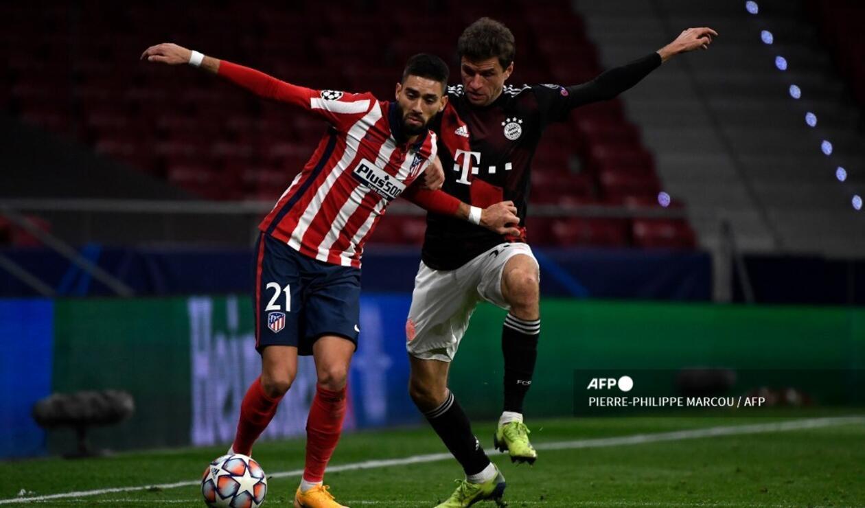 Atlético de Madrid vs Bayern 2020