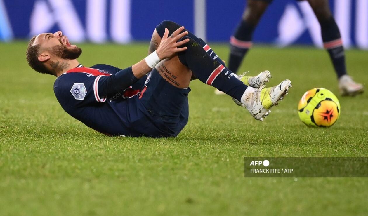 Neymar lesionado 2020