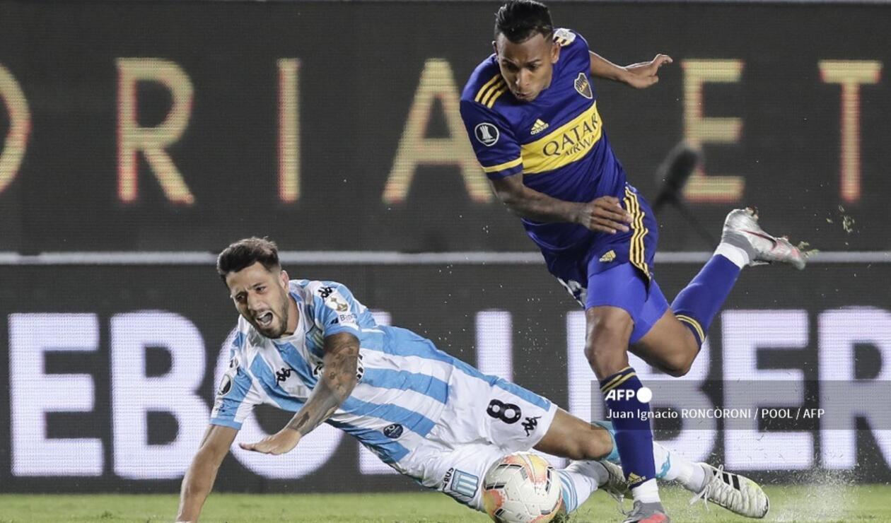 Sebastián Villa - Boca Juniors vs Racing