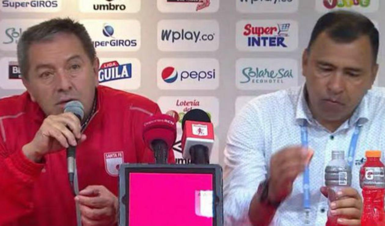 Eduardo Méndez y Hárold Rivera - Santa Fe