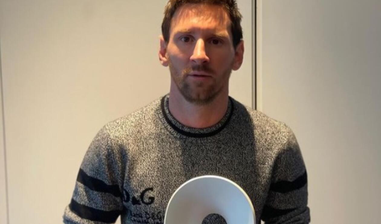 Lionel Messi, premio de la paz