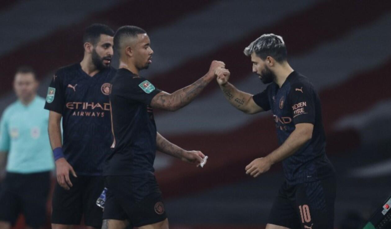 Manchester City, Agüero y Gabriel Jesús