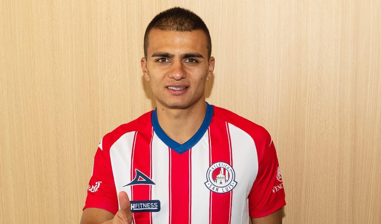 Jhon Duque, jugador de San Luis