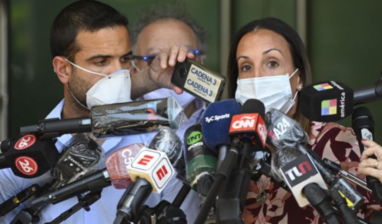Agustina Cosachov, psiquiatra que trató a Diego Armando Maradona