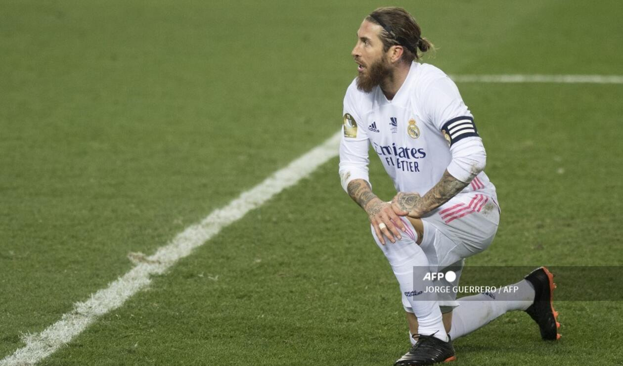 Sergio Ramos, Real Madrid 2021