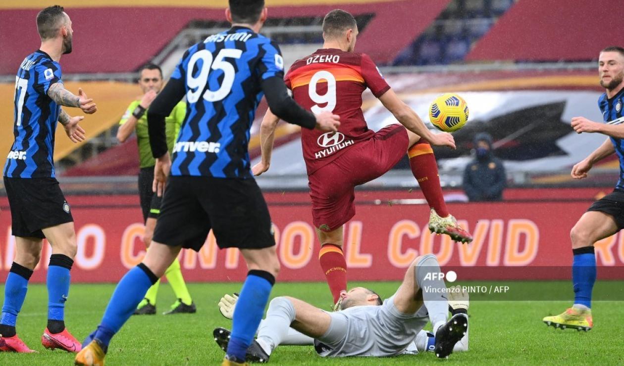 Roma vs Inter - Serie A 2021