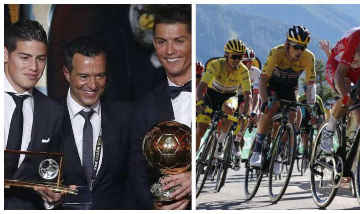 Jorge Mendes incursiona en el ciclismo de ruta