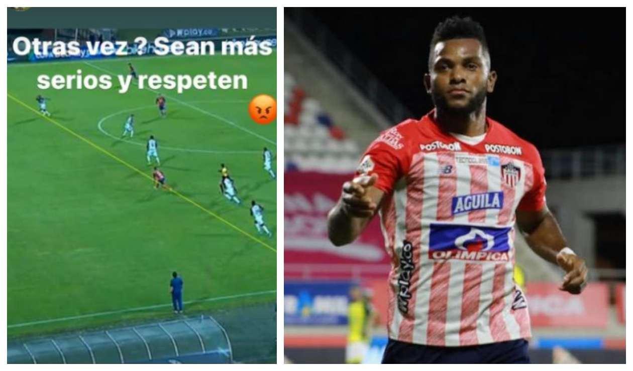 Miguel Ángel Borja en Instagram