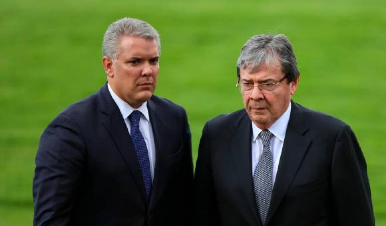 Iván Duque y Carlos Holmes Trujillo