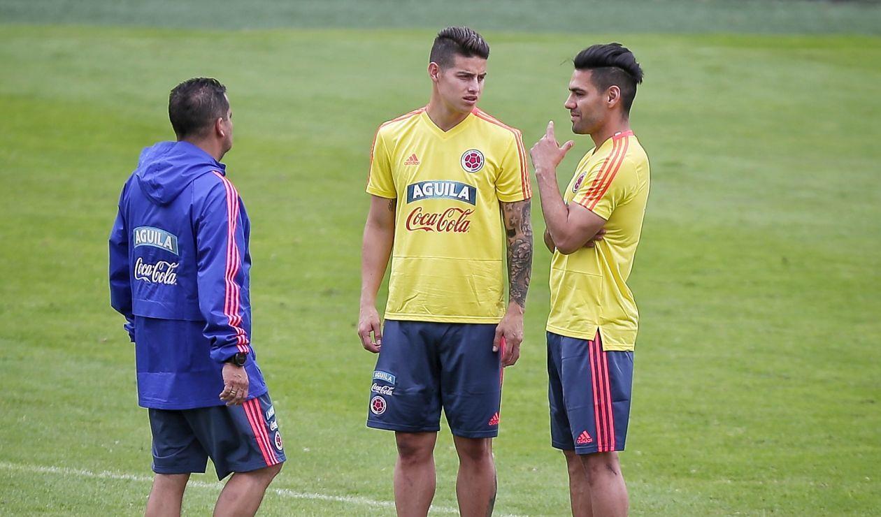 James Rodríguez, Falcao, Selección Colombia