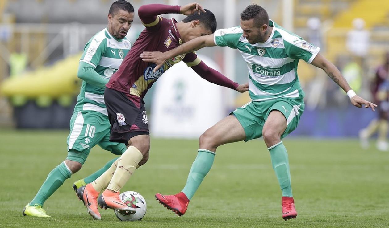 Tolima vs La Equidad, Liga Betplay