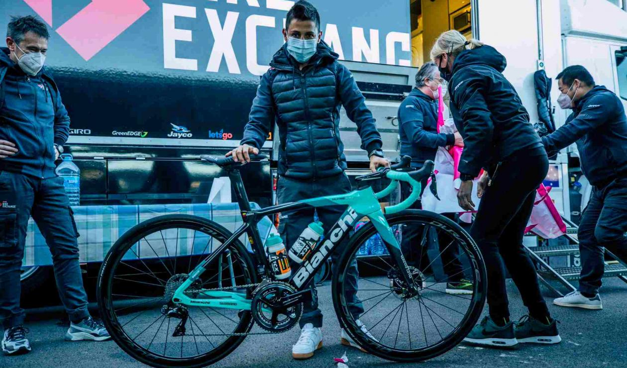 Esteban Chaves, Team Bike Exchange