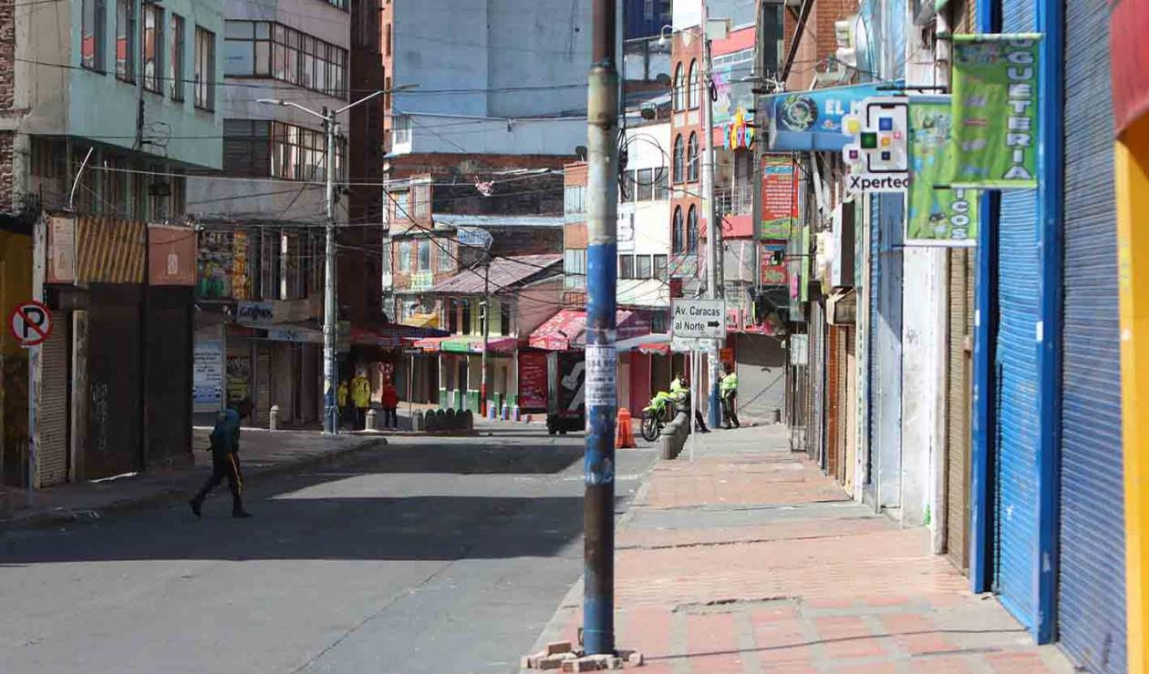 Nueva cuarentena estricta en Bogotá: así se ve la ciudad