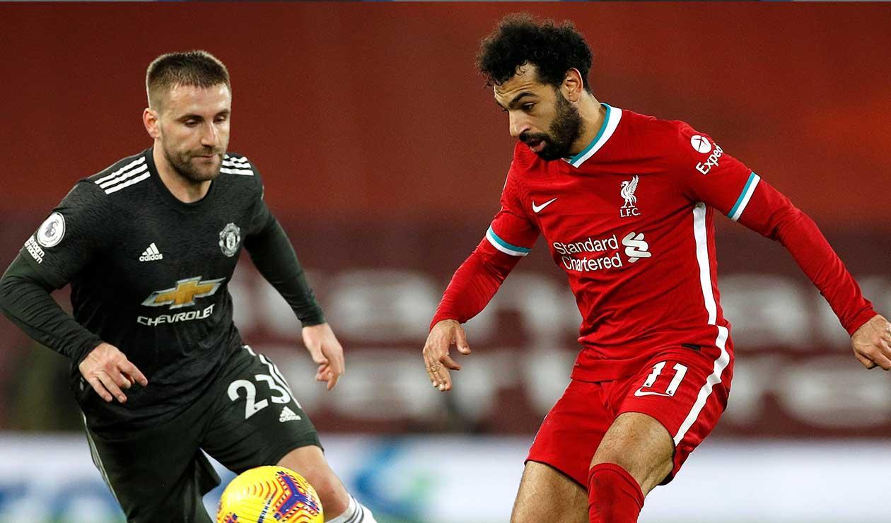 Liverpool y Manchester United, clásico inglés