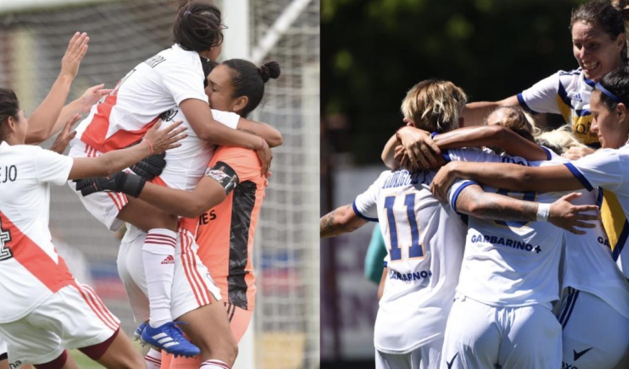 River Plate vs Boca Juniors femenino