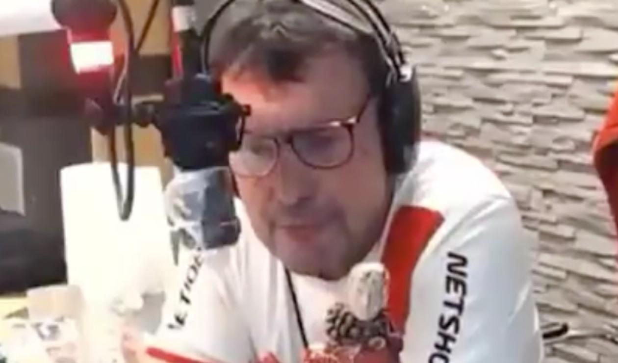 Captura de pantalla narrador Costa Febre