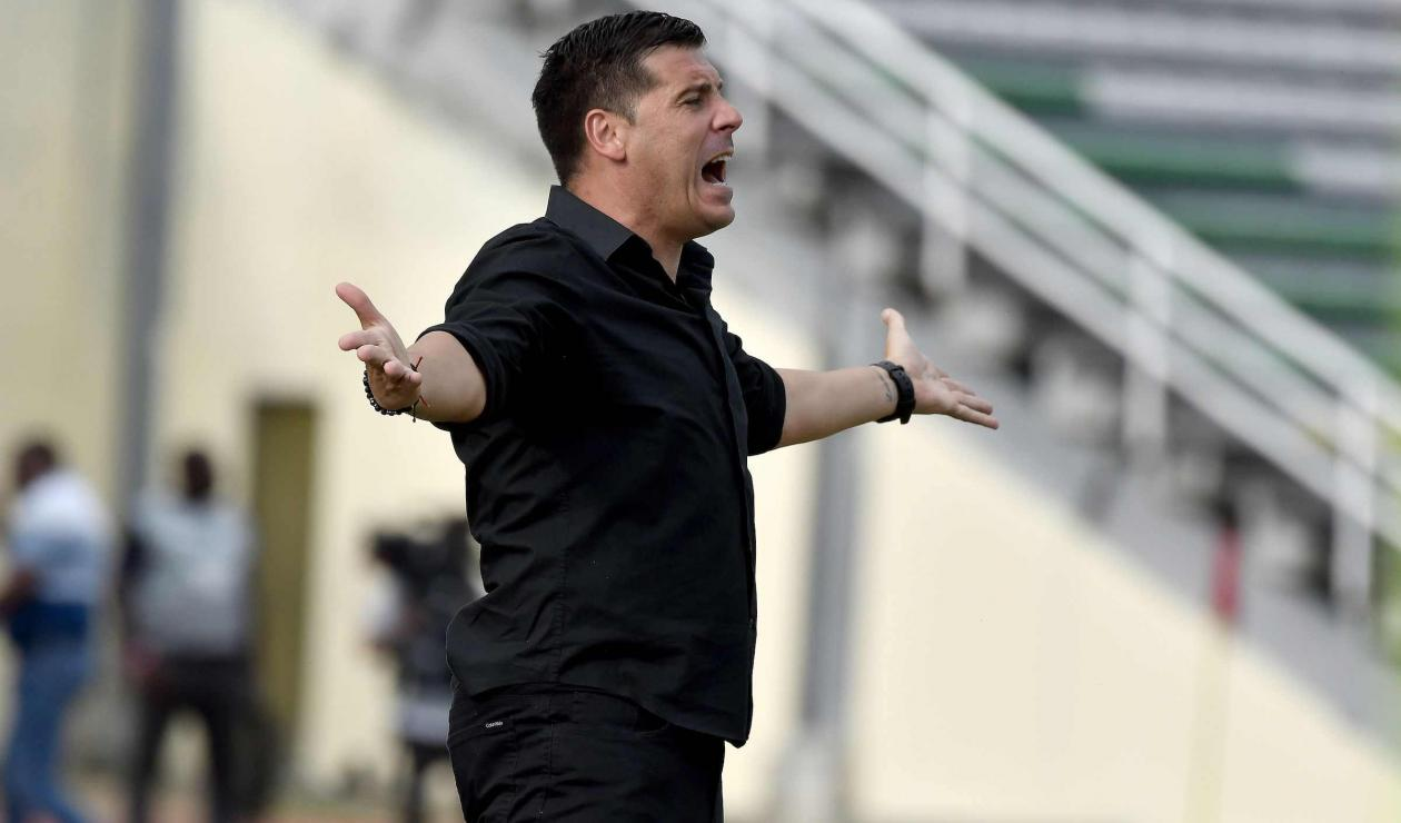 Juan Cruz Real, técnico de América