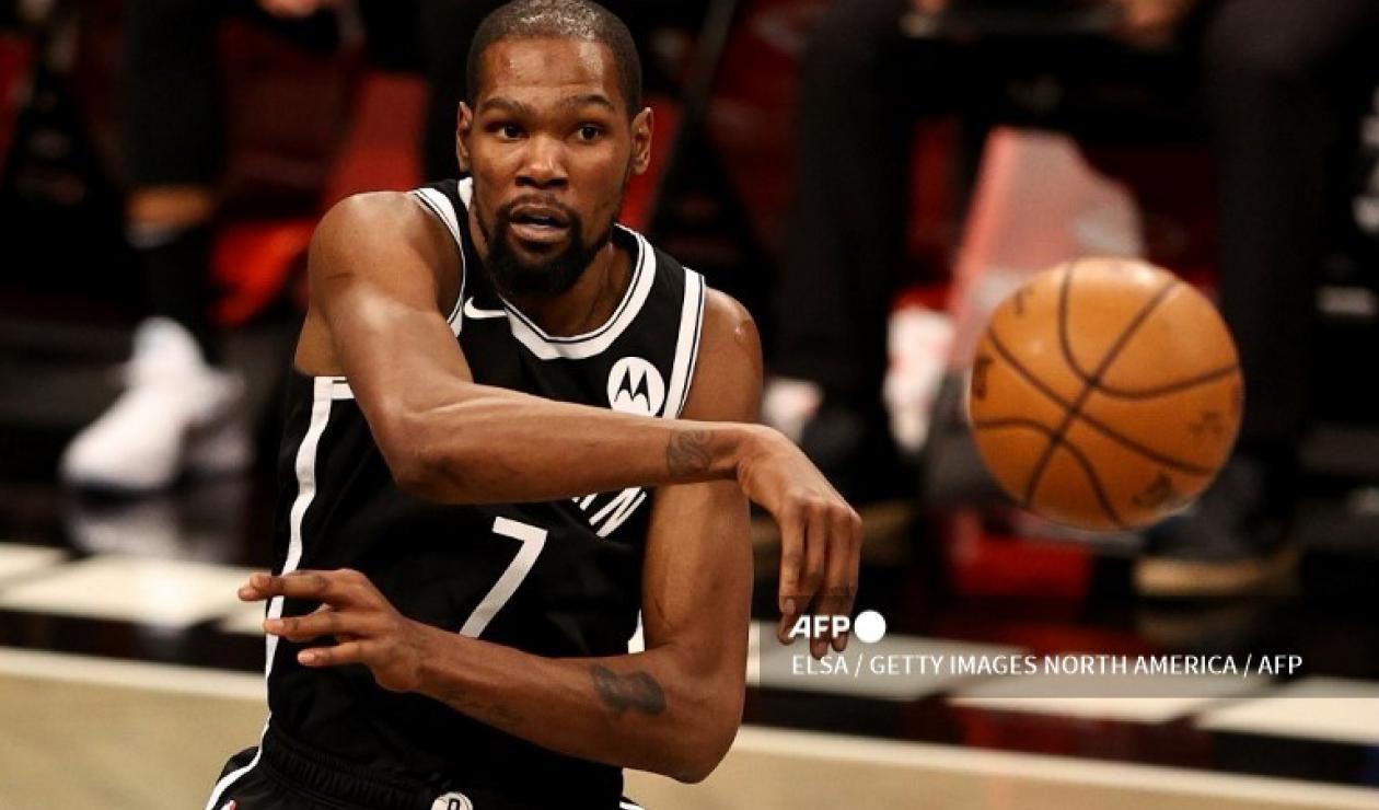 Kevin Durant, jugador de los Nets de Brooklyn