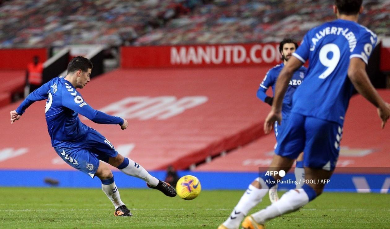 Gol James Rodríguez vs Manchester United
