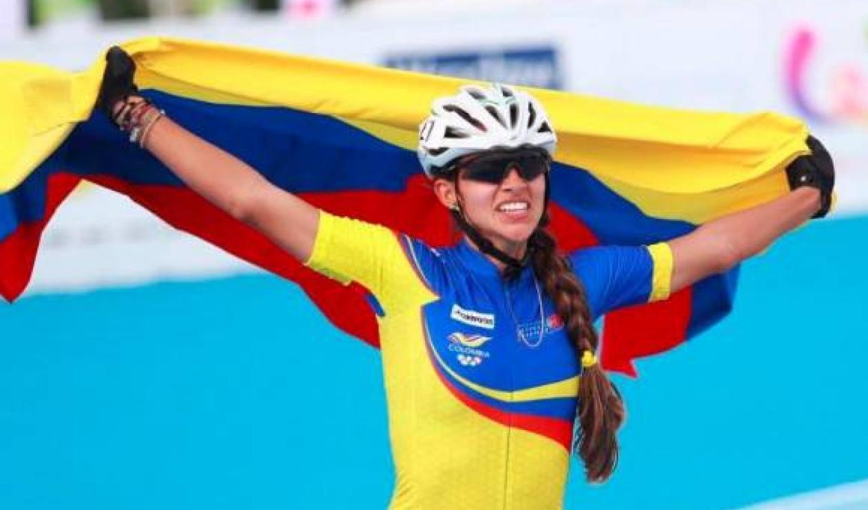 Fabriana Arias, patinadora colombiana