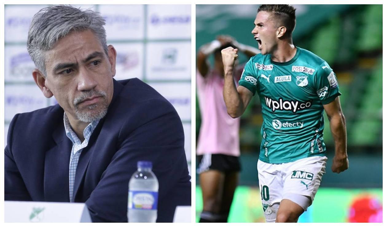 Marco Caicedo y Agustín Palavecino - Deportivo Cali