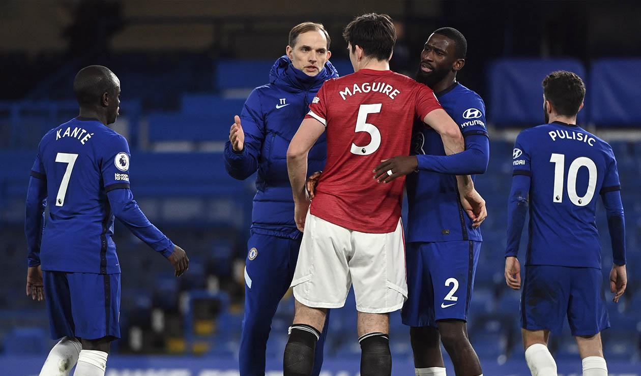 Chelsea y Manchester United, Premier League