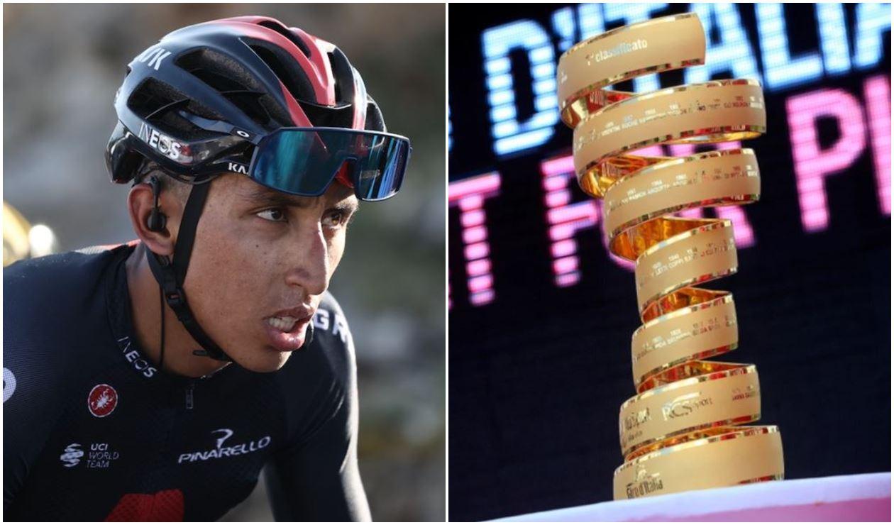 Egan Bernal correrá el Giro de Italia 2021