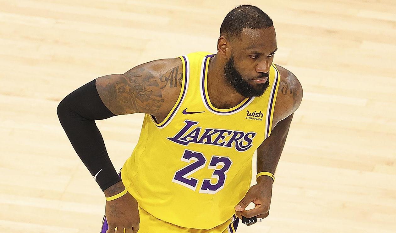 LeBron James, jugador de Los Lakers