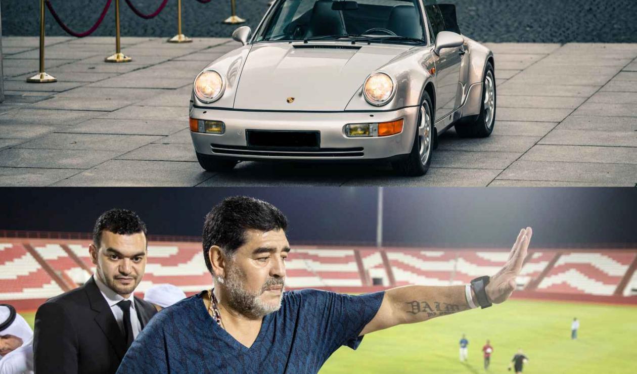 Porsche y Maradona