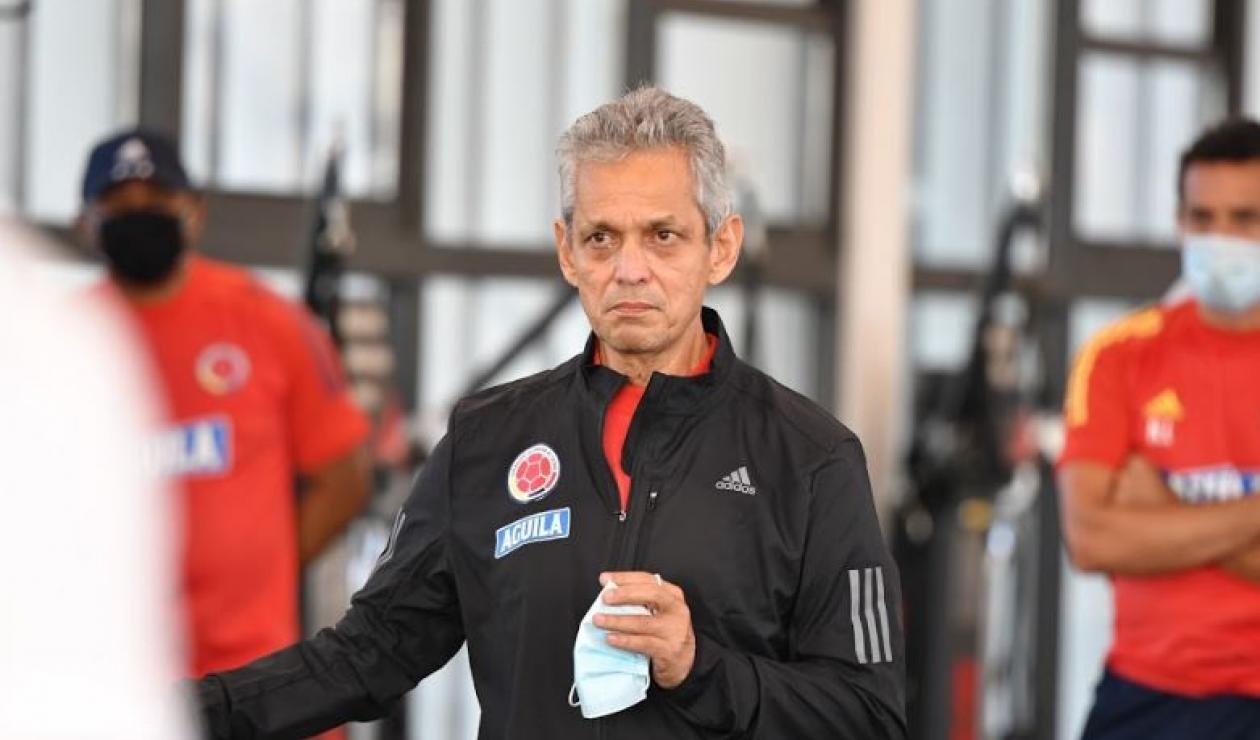 Primer entrenamiento de Reinaldo Rueda con Colombia
