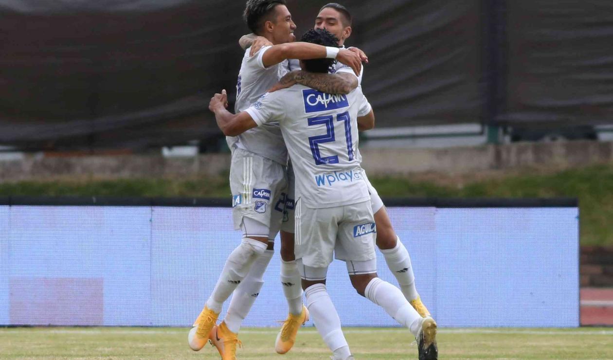 Millonarios 2021 - gol Fernando Uribe