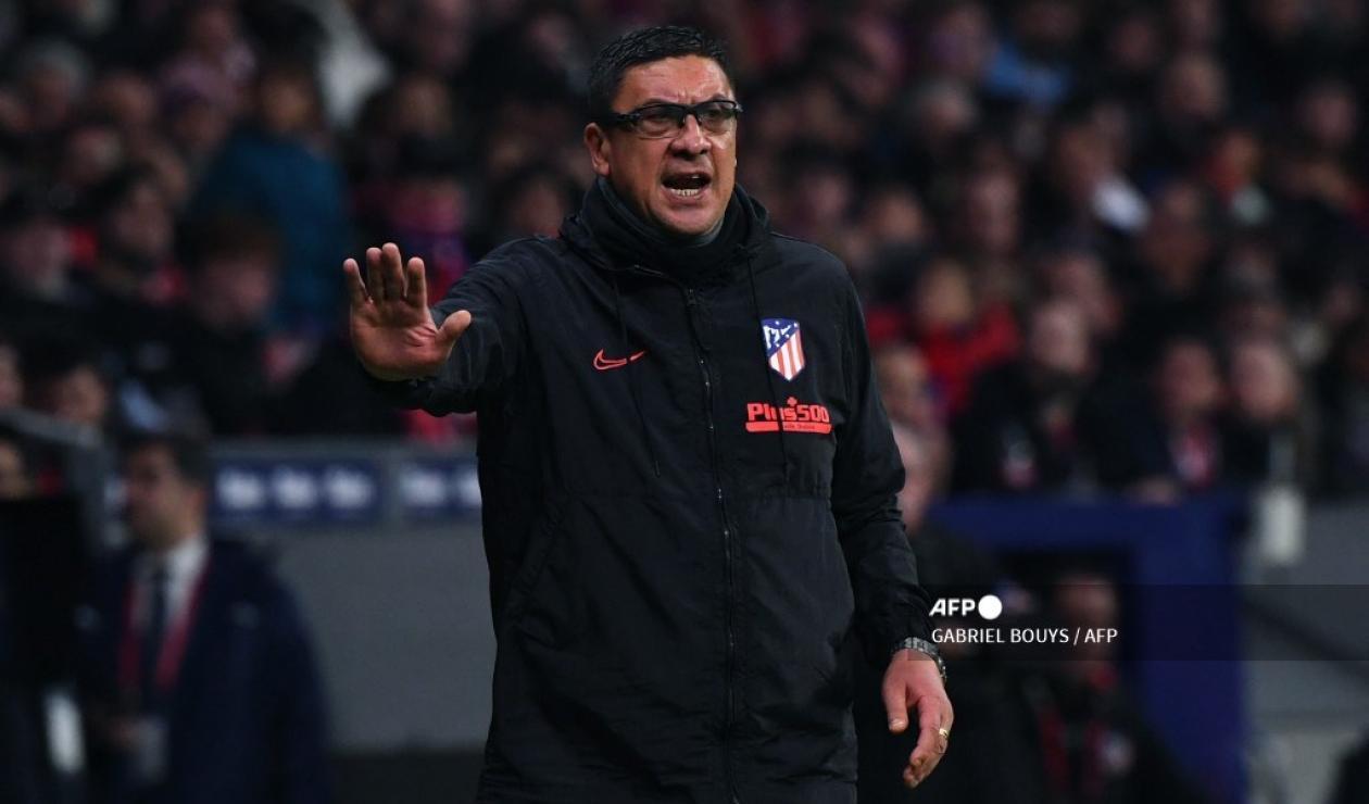 Germán Burgos, ex asistente técnico del Atlético de Madrid