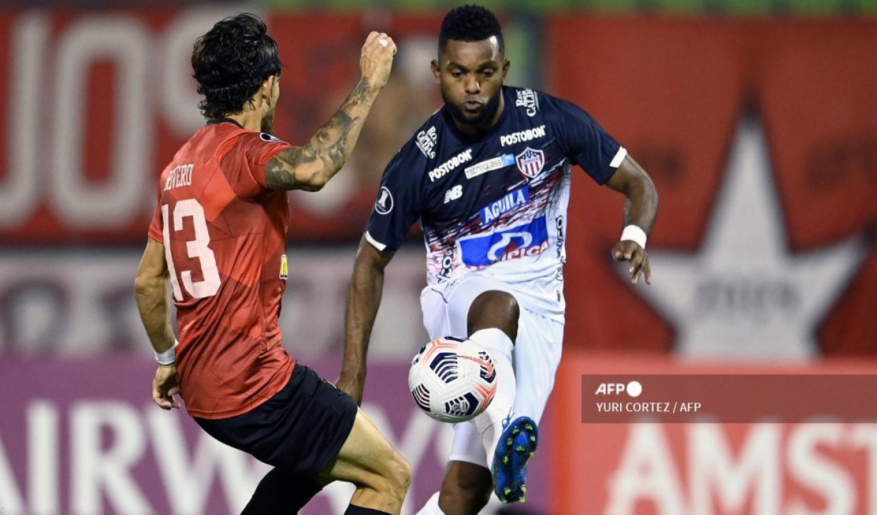 Junior vs Caracas FC, 2021