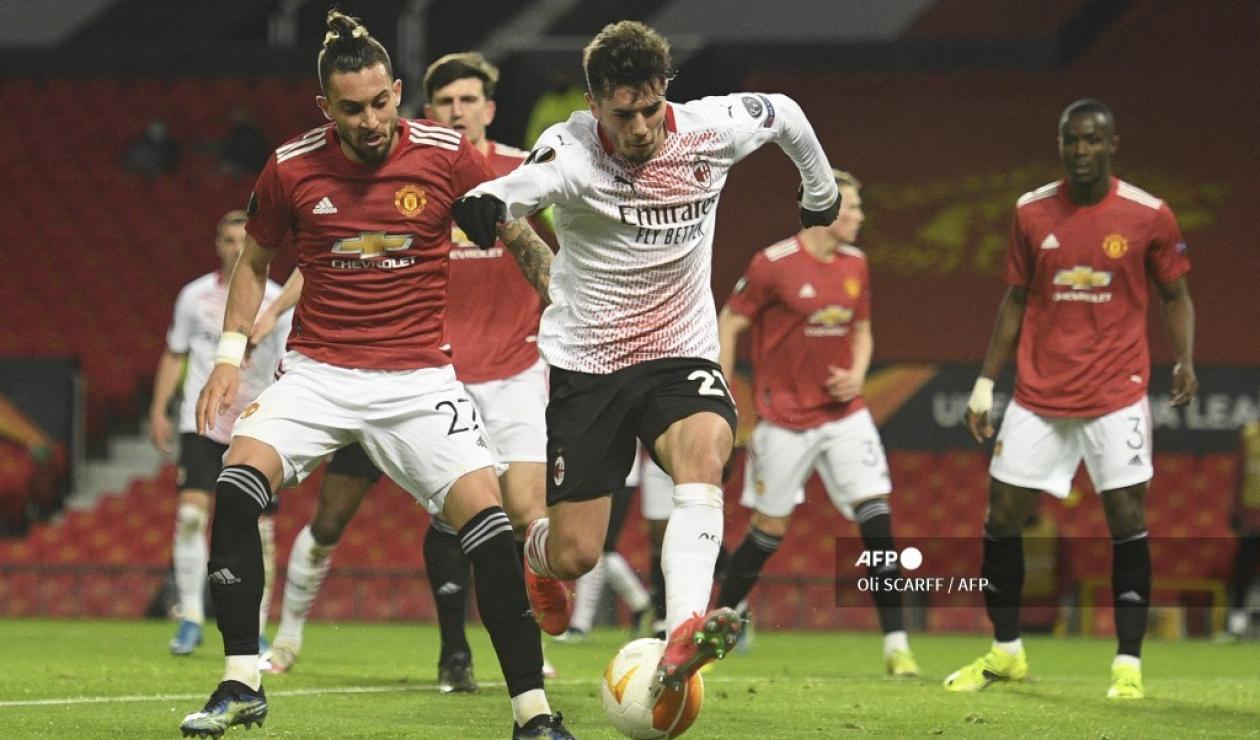 Manchester vs Milan - Europa League