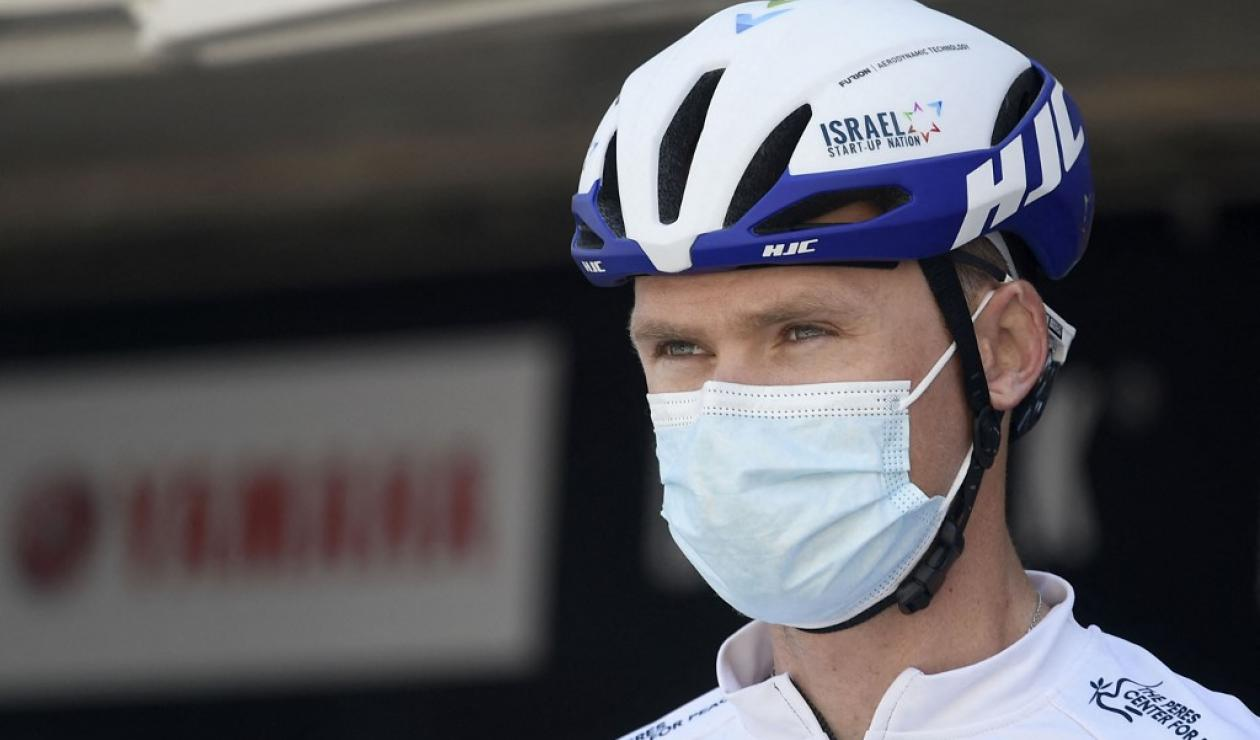 Chris Froome, Israel Start Up Nation
