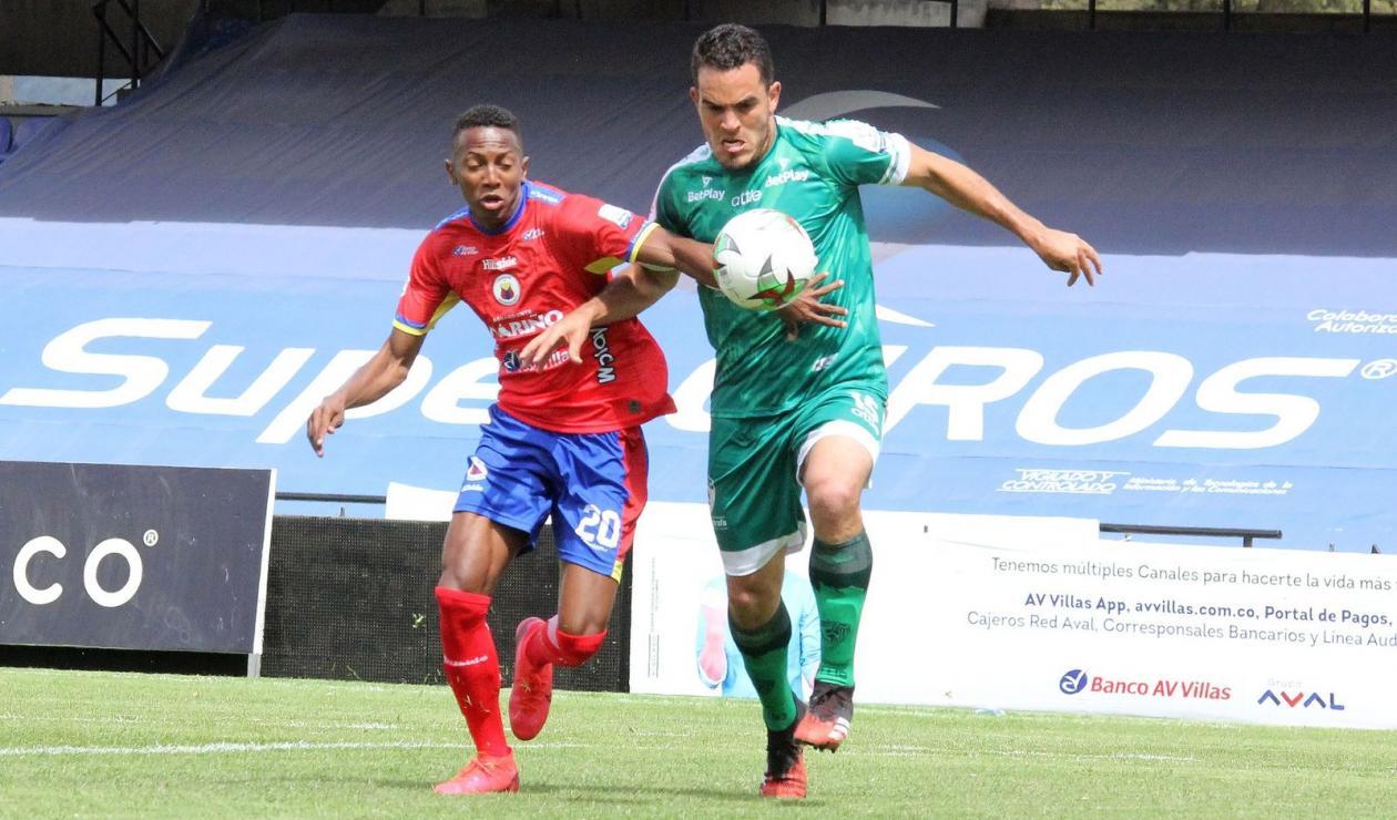Deportivo Pasto vs La Equidad; Liga Betplay 2021