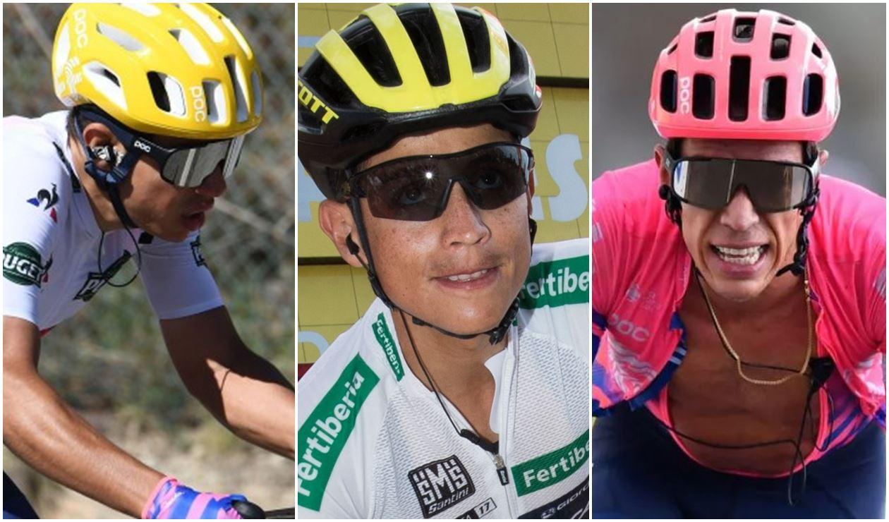 Higuita, Chaves y Urán, colombianos en la Vuelta al País Vasco