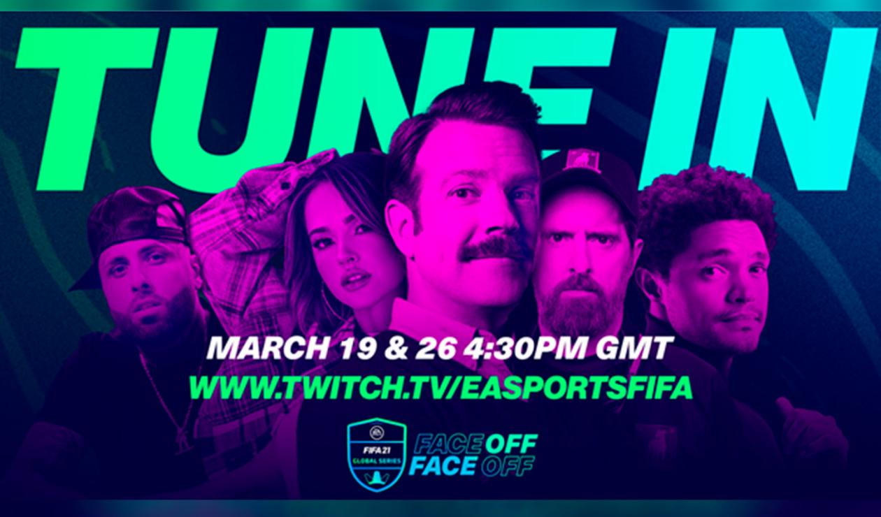 FIFA 21 Face off, evento con celebridades