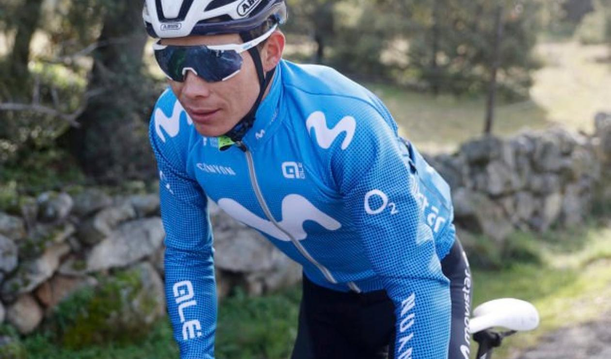 Miguel Ángel López - Movistar Team