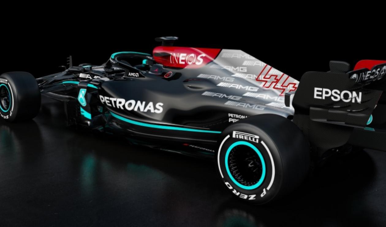 Mercedes 2021
