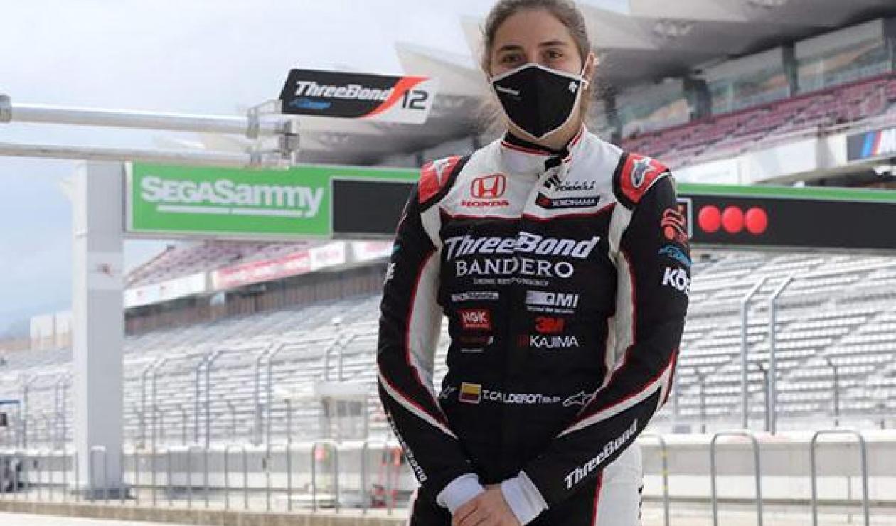 Tatiana Calderón- Súper Fórmula Japonesa